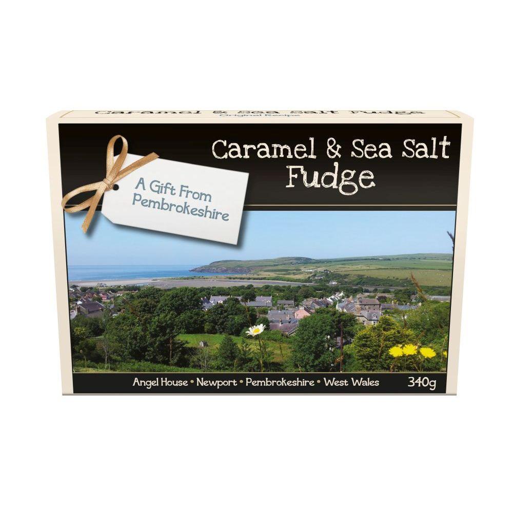 CARAMEL & SEA SALT FUDGE
