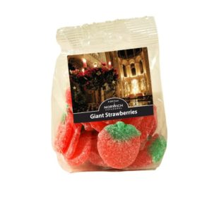 GIANT STRAWBERRIES (SUGAR COATED)