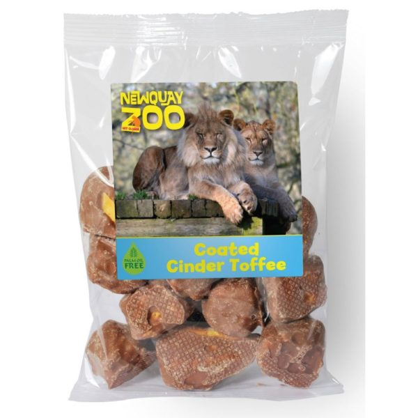 CHOC FLAVOUR COATED CINDER TOFFEE
