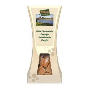 CHOCOLATE ORANGE HANDMADE FUDGE
