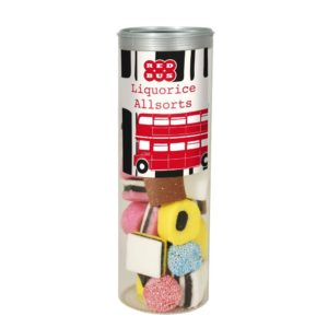 TEMPLE ISLAND RED BUS - LIQUORICE ALLSORTS