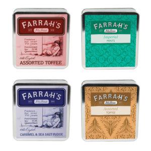 Farrahs Flat Tin